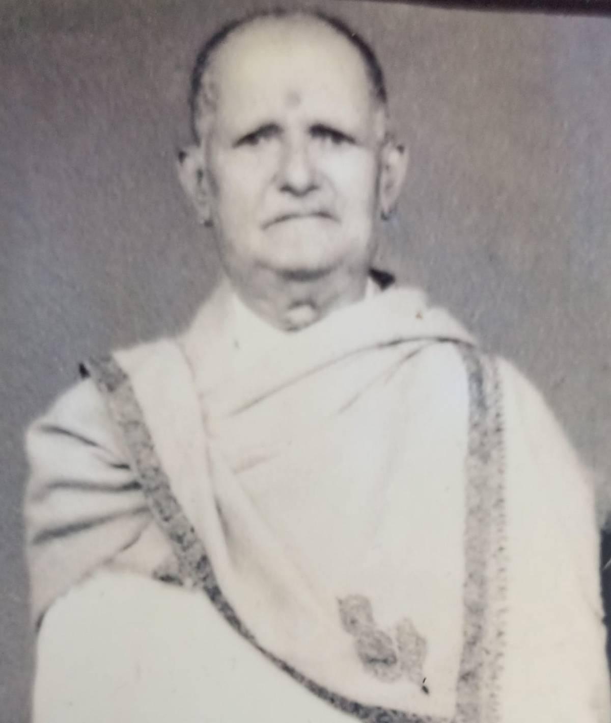 ಹರಿಕಥಾ ಸಾಮ್ರಾಟ ಗಮಕಿ ಬಾಳಗಂಚಿನಂಜುಂಡಯ್ಯನವರು