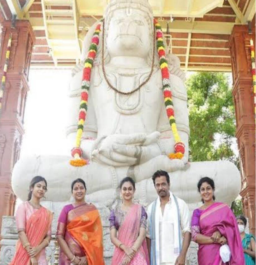 ಅರ್ಜುನ ಸರ್ಜಾ ಅವರ ಯೋಗಾಂಜನೇಯ ಸ್ವಾಮಿದೇವಸ್ಥಾನ